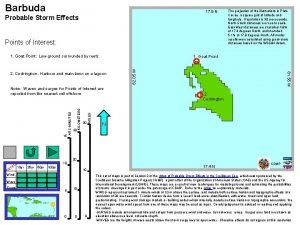 Barbuda 17 9 N Probable Storm Effects Points