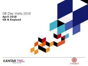 GB Day Visits 2018 April 2018 GB England