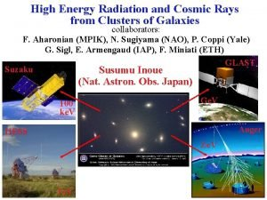 High Energy Radiation and Cosmic Rays from Clusters