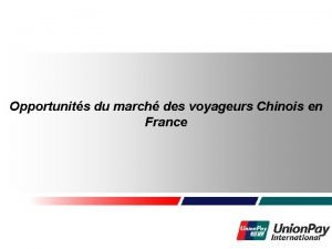 Welcome to HUAWEI Technologies Opportunits du march des
