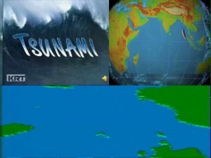 THE TSUNAMI The most powerful earthquake in 40