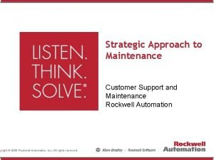 yright 2008 Rockwell Automation Inc All rights reserved