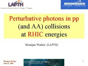 Perturbative photons in pp and AA collisions at