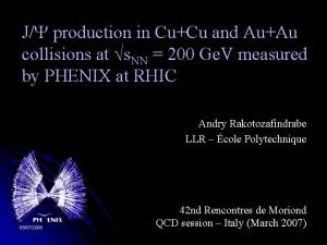 J production in CuCu and AuAu collisions at