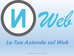 La Tua Azienda sul Web materiale ad uso