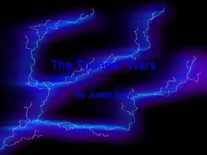 The Thunder Wars By Justin Ivey Unusual Birth