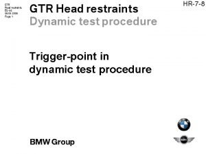 GTR Head restraints ES62 08 09 2006 Page