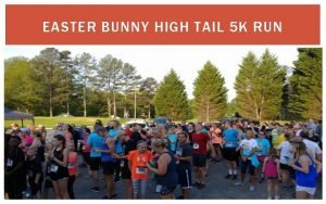 EASTER BUNNY HIGH TAIL 5 K RUN EASTER