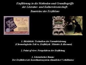 Einfhrung in die Methoden und Grundbegriffe der Literatur