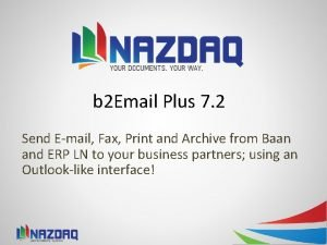 b 2 Email Plus 7 2 Send Email