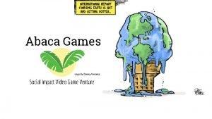 Abaca Games Logo By Danny Vincenz Social Impact