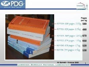 Pages per kg 580 490 670 650 520