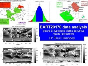 EART 20170 data analysis lecture 6 hypothesis testing