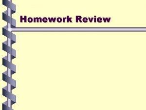Homework Review CCGPS Analytic Geometry Day 3 11314