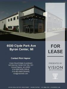 NOW LEASING Clyde Park Avenue 6030 Clyde Park