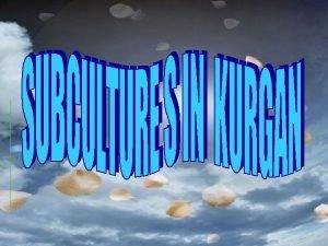 Subcultures in Kurgan EMO SKAP GOTHS EMO Emo