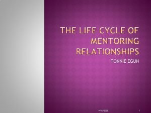 TONNIE EGUN 9162020 1 The rewards of mentoring