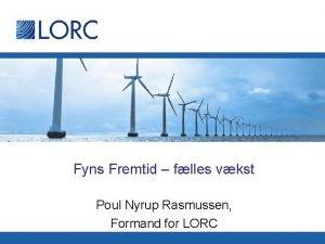 Fyns Fremtid flles vkst Poul Nyrup Rasmussen Formand