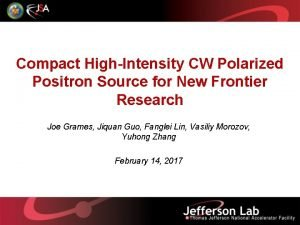 Compact HighIntensity CW Polarized Positron Source for New