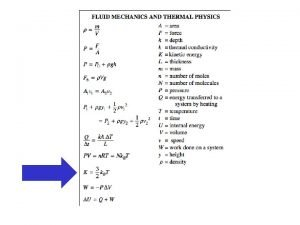 Kinetic Molecular Theory See link via Weebly page