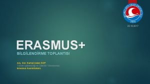 23 10 2017 ERASMUS BLGLENDRME TOPLANTISI Ar Gr