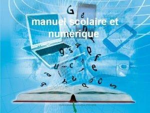 manuel scolaire et numrique runion interlocuteurs lettres 27012009