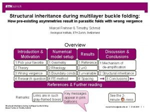 Structural inheritance during multilayer buckle folding How preexisting
