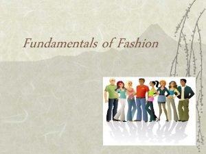 Fundamentals of Fashion Fashion Terminology Haute Couture v