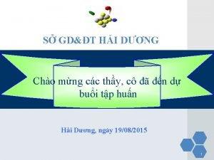 S GDT HI DNG Cho mng cc thy