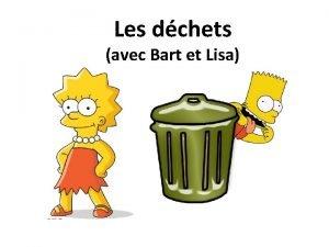 Les dchets avec Bart et Lisa Mettez vos