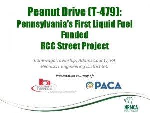 Peanut Drive T479 Pennsylvanias First Liquid Fuel Funded