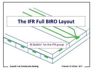 The IFR Full BIRO Layout W Baldini for