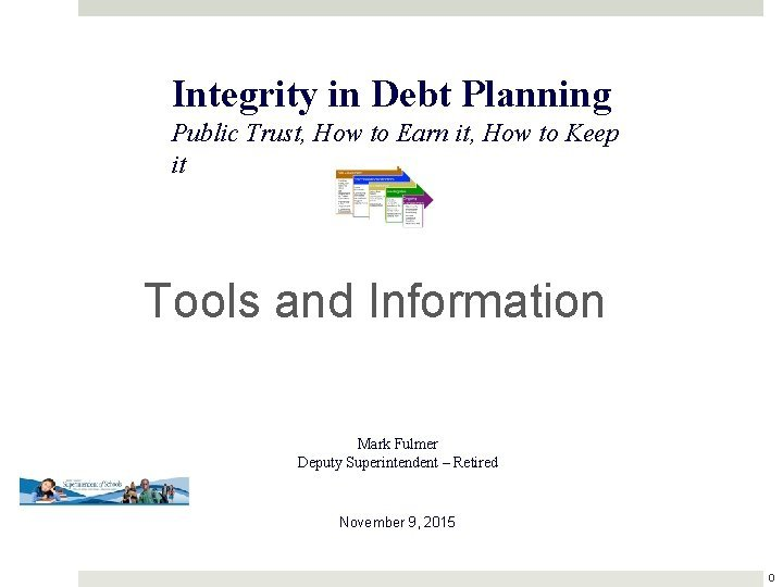 Integrity in Debt Planning Public Trust How to
