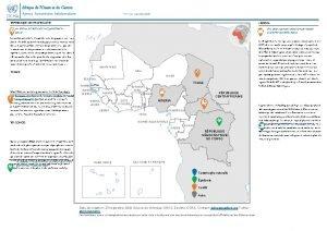 Afrique de lOuest et du Centre Aperu humanitaire