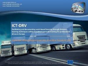 www projectictdrv eu www facebook comprofdrven www facebook