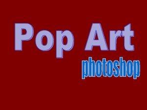 Pop art is an art movement that emerged