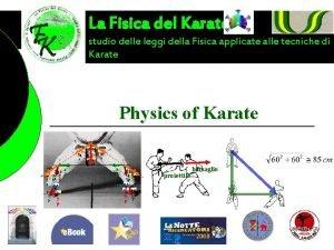 La Fisica del Karate studio delle leggi della