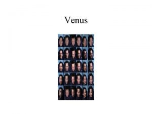 Venus Classification Faces Different Faces Same Lighting affects
