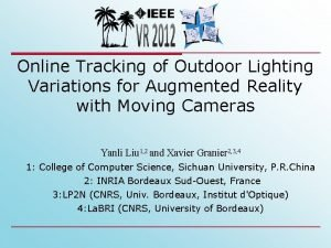 Online Tracking of Outdoor Lighting Variations for Augmented