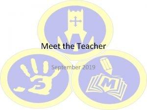 Meet the Teacher September 2019 Meet the team