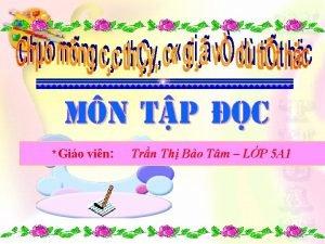 Gio vin Trn Th Bo Tm LP 5
