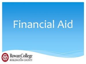 Financial Aid How to Apply for Financial Aid