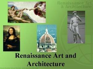 Renaissance Art and Architecture Background 1050 1350 Population