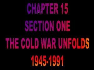1949 the Soviet Union develops atomic bomb 1