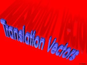 T Madas Translation Sliding vector Horizontal Steps Vertical