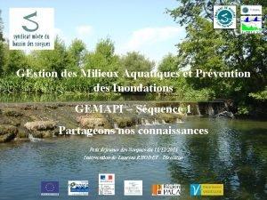 GEstion des Milieux Aquatiques et Prvention des Inondations