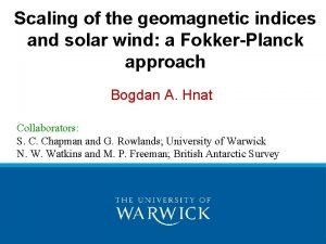Scaling of the geomagnetic indices and solar wind