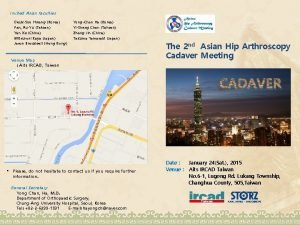 Invited Asian faculties DeukSoo Hwang Korea Pan RuYu