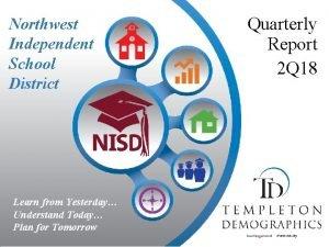 Northwest Independent School District Learn from Yesterday Understand