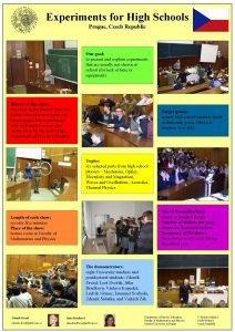 Experiments for High Schools Prague Czech Republic Our